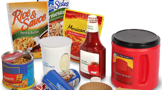 various types of packaging
